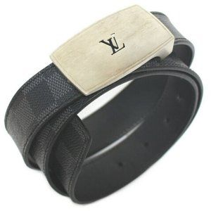 LOUIS VUITTON Sunture LV CUT Damier Graphite BELT